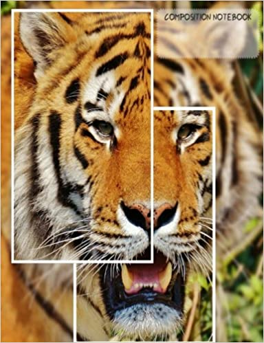 Tiger Frames Wide Rule Composition Notebook: Nerd Child ...