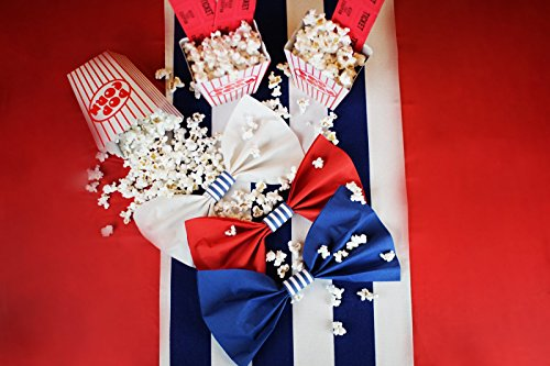 Nautical Party Supplies Custom Self Adhesive Paper Napkin Rings for Boy Baby Shower Decorations, Gender Reveal Ideas, or Birthday Decor 4 Sets of 40 Rings by The French Concept by The French Concept (Image #2)