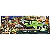 Lança Dardo Nerf Zombie Slingfire Hasbro Verde