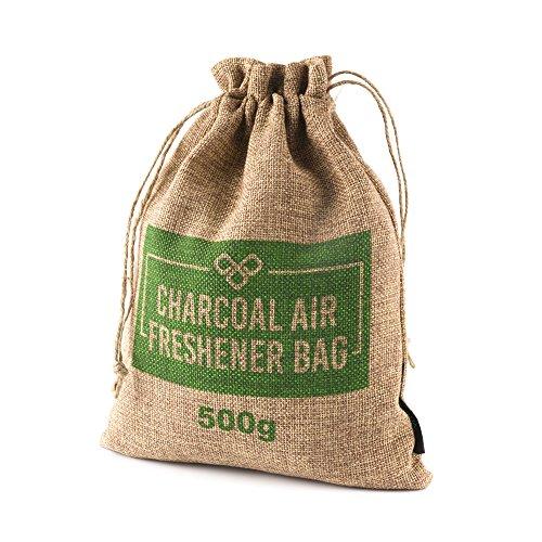 VITCHELO 500g Bamboo Charcoal Bag. 100% Natural Odor ...