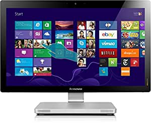 """Lenovo IdeaCentre A730 2.4GHz i7-4700MQ 27"""" 1920 x 1080Pixeles Pantalla táctil Plata PC todo en uno - Ordenador de sobremesa All in One (68,6 cm (27""""), Full HD, 4ª generación de procesadores Intel® Core™ i7, 8 GB, 1000 GB, Windows 8)"""
