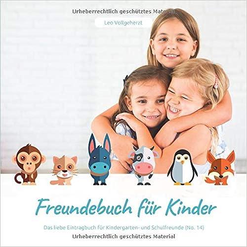 vollgeherzt: Freundebuch für Kinder: Das liebe Eintragbuch für Kindergarten- und Schulfreunde (No. 14)