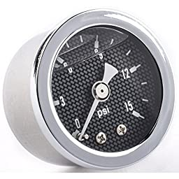 JEGS Performance Products 41030 Fuel Pressure Gauge