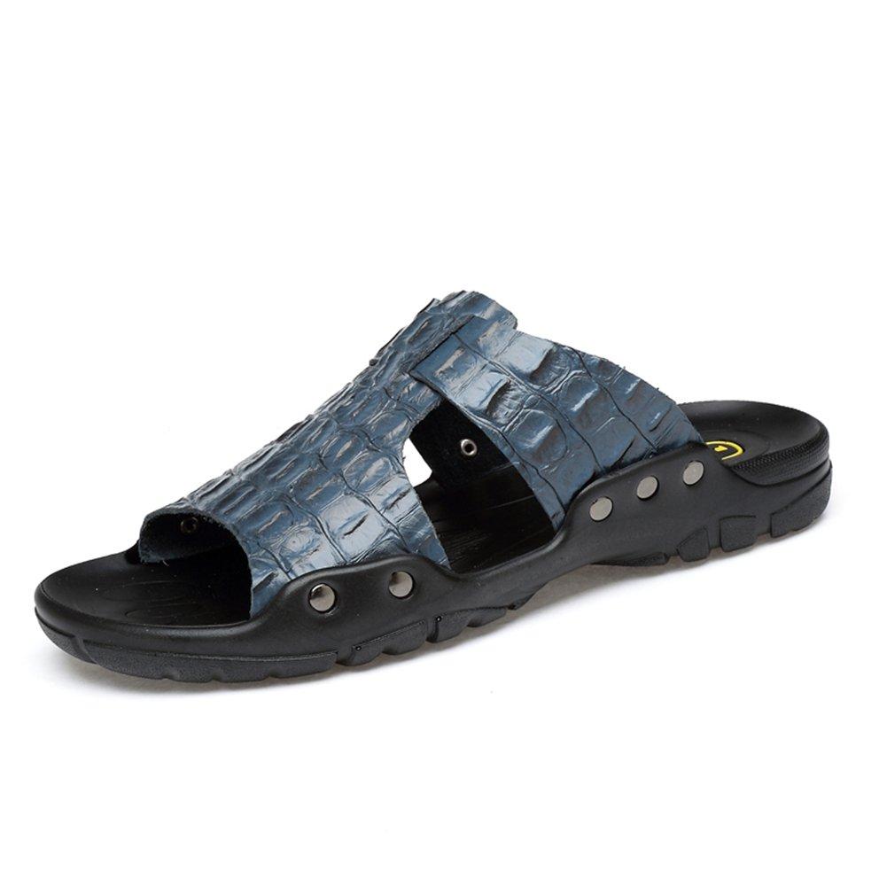 Zapatos para Hombres Cuero Verano Comodidad Zapatillas y Chanclas Sandalias Zapatos para Caminar Zapatos Abiertos 39 EU|Do