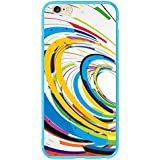Maxboost iPhone 6 Case [Designer Snap-On Case Series - Color Swirls] Premium Coated Protective Hard Case for iPhone 6 (Fits All Versions of iPhone 6)
