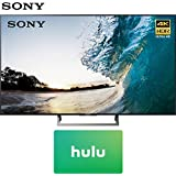 Sony 75-inch 4K HDR Ultra HD Smart LED TV 2017 Model (XBR-75X850E) with Hulu $25 Gift Card