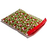 Christmas Designer Mailers Plastic Shipping Envelopes Green & Red Shipping Bags (100 10x13)