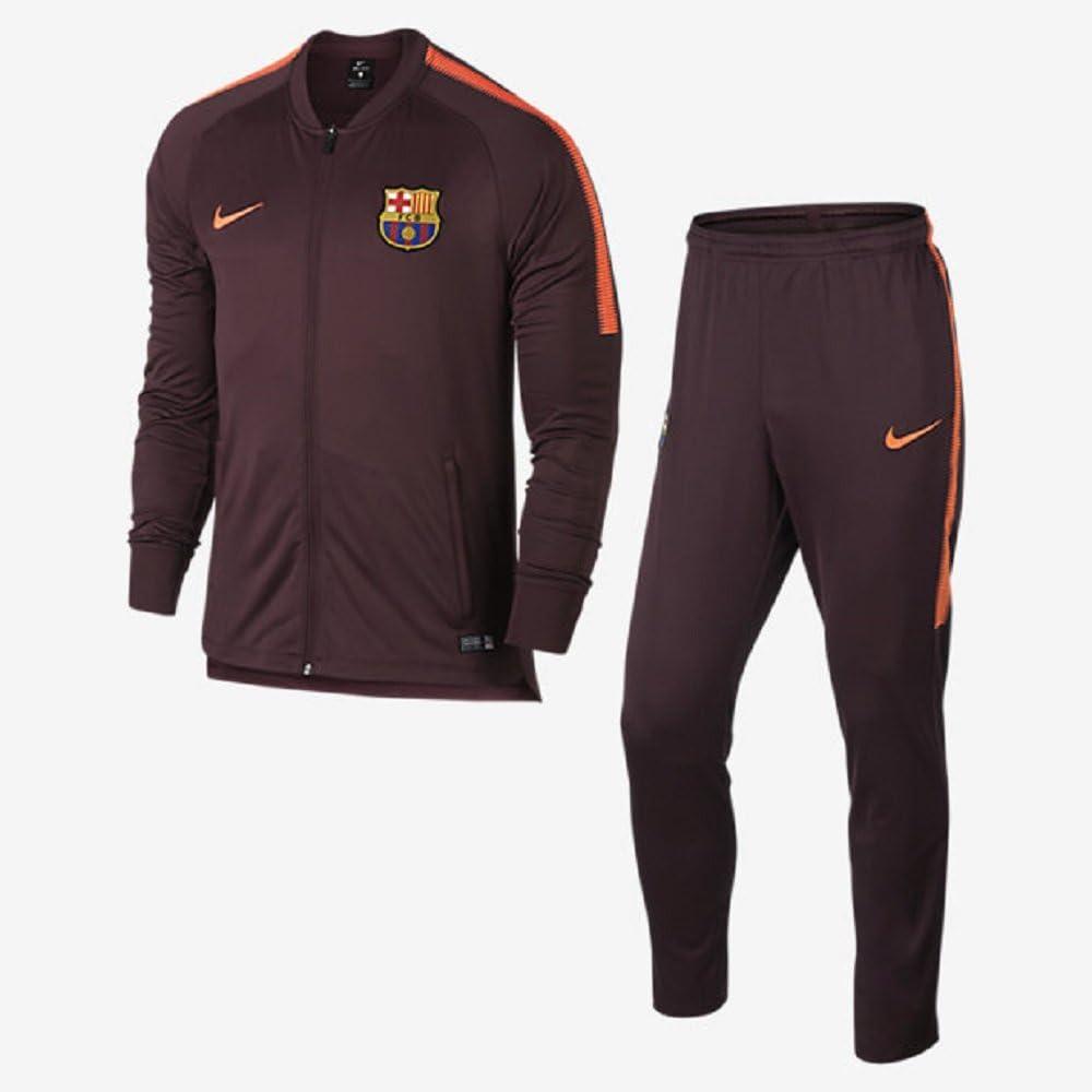 Chandal Jr. Nike F.C.Barcelona Dry Squad Granate M (137-147 CM ...