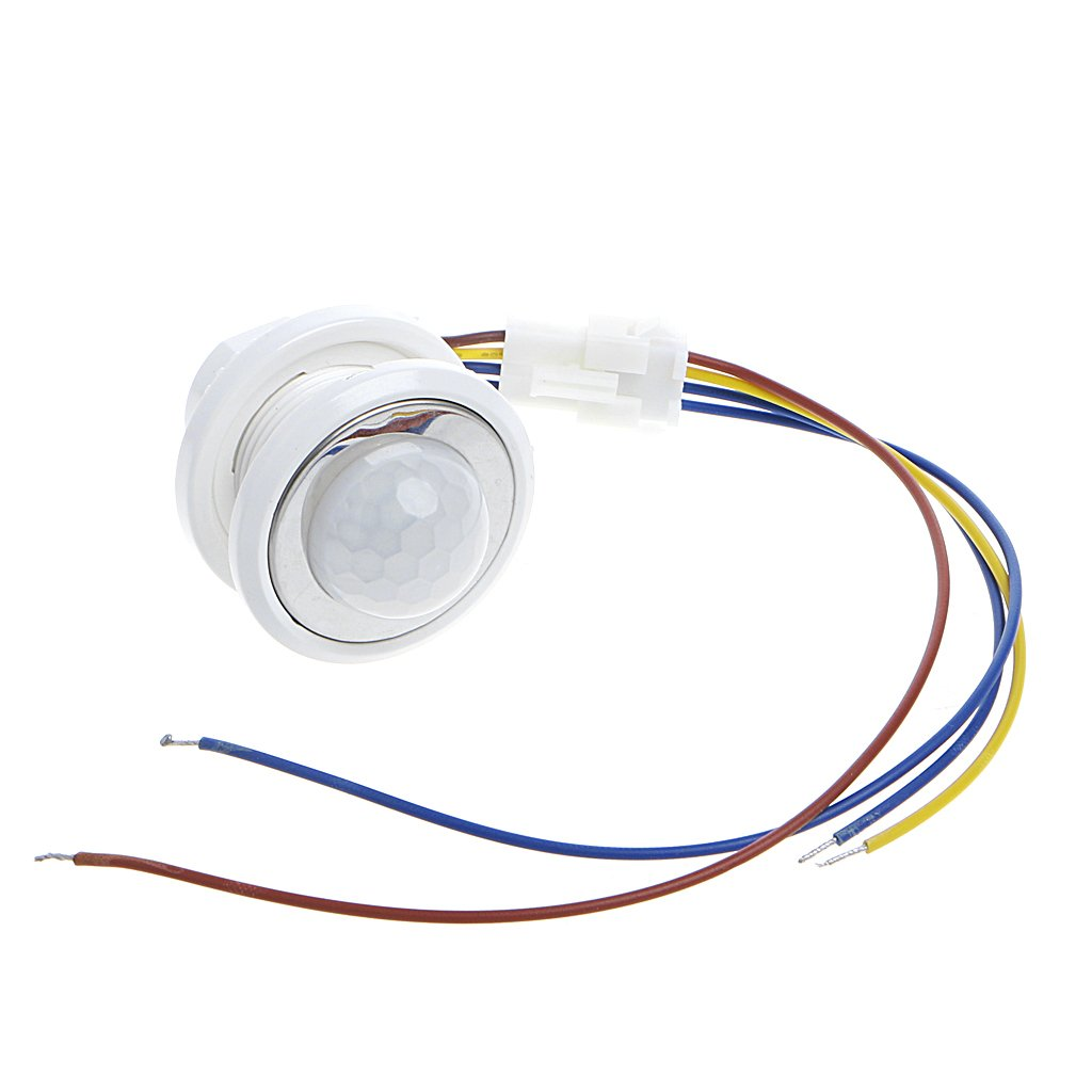 110 Degree PIR Motion Sensor Light Switch with Adjustable Time Delay