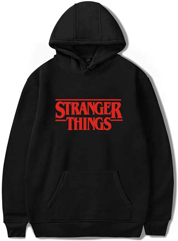 goowrom Unisex 3D Printed Hoodie Stranger Things Pullover Street Sweatshirts Jumper for Boys and Girls