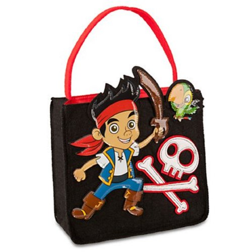 Disney Jake and the Never Land Pirates Black Felt (Jake And The Neverland Pirates Captain Hook Costume)