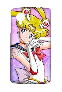 Pretty Guardian Sailor Moon Crystal Snap on Plastic Case Cover Compatible with LG Google Nexus 5 N5