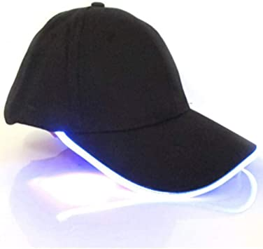 GSFD&DFGW Gorra de béisbol con Flash de luz Unisex Glow Club ...