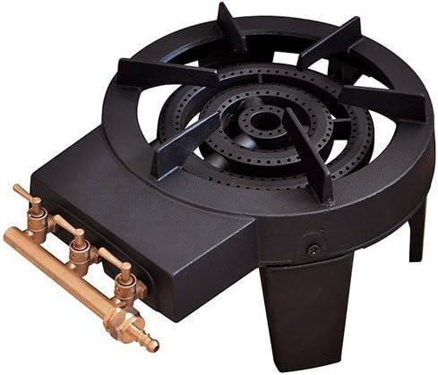 Ribiland – prf391/34 – Hornillo de gas quadripatte hierro fundido 8.6 kW