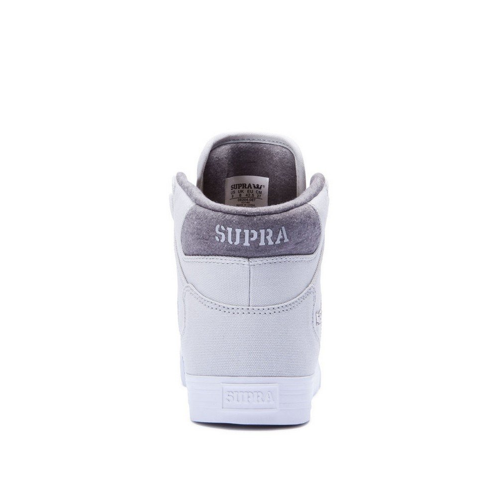 Supra Vaider LC Sneaker B06XZ8WP8M 10 D(M) US|Greyviolet White