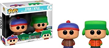 Funko- South Park – Stan and Kyle 2 Pack Figurina, Multicolor, 15211
