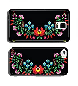 Hungarian floral folk pattern - Kalocsai embroidery with flowers cell phone cover case Apple iPhone 6