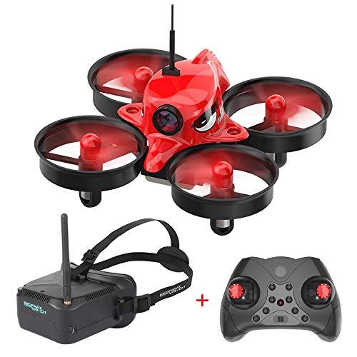Redpawz R011 Micro FPV Racing Drone with 1000TVL Camera, VR Goggles, FOV 120