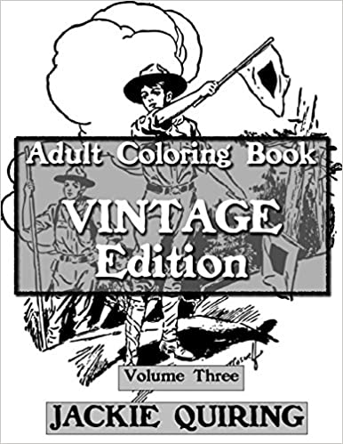 Adult Coloring Book: Vintage Edition 3 (Adult Coloring Books