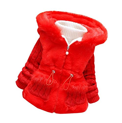 DORAMI Baby Girls Winter Autumn Cotton Warm Cotton Jacket Coat