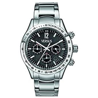 Uhr VERSUS vesace Cosmopolitan SGC07 Quarz (Batterie) Stahl Quandrante schwarz Armband Stahl