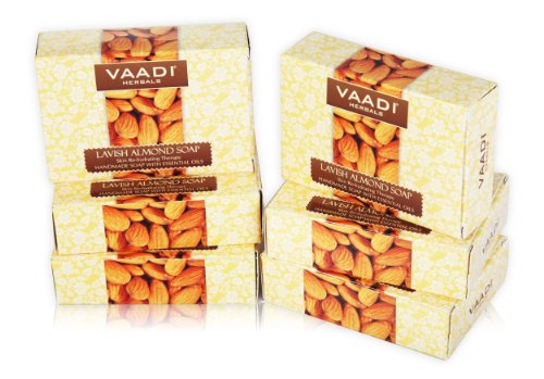 Handmade-Herbal-Bar-Soaps-ALL-Natural-Best-Natural-Skin-Moisturizer-Made-with-100-Aromatherapy-Essential-Oils-Antifungal-Antibacterial-Anti-Aging-Anti-Acne-Each-265-Ounces-Pack-of-6-16-Ounces-Vaadi-He