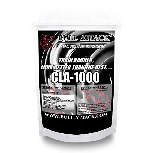 CLA = 500 Kapseln á 1000mg - Hochdosiert - konjugierte Linolsäure, Softgel - Premium Qualität - natürlicher Fatburner, Fettverbrennung