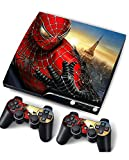 PS3 Skins The Amazing Spider-Man 2 decals vinyl cover for ps3 Slim Console
