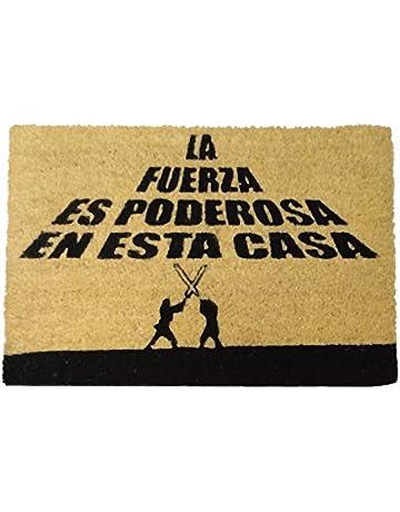 koko doormats Felpudo con Diseño La Fuerza Es Poderosa, PVC, Coco, 40 x