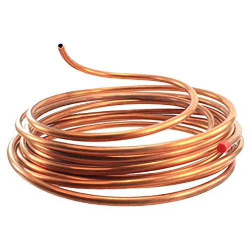 1/4'' Flexible Copper Tubing - 10' Length