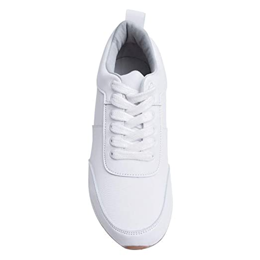Amazon.com: MERCEDES CAMPUZANO 2365 Platform Sneakers For Women | Zapatos Plataforma: Clothing