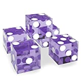 Brybelly Set of 5 Grade AAA 19mm Casino Dice with
