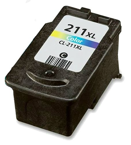 HouseofToners Canon CL-211XL High Capacity Color Replacement Ink Cartridge (Remanufactured in the USA)