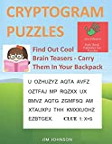 CRYPTOGRAM PUZZLES LARGE PRINT - Find Out Cool
