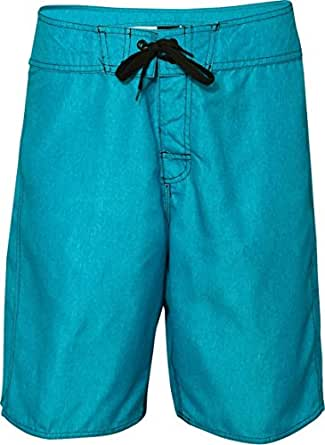 Burnside Heathered Board Shorts.B9305 - 30 - Blue Heather