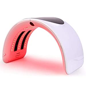 Foldable Skin Care Machine, 6 Color Hot Sale Photon PDT Led Light Facia Body Therapy Touch Screen Face Whitening Skin Care Rejuvenation Equipment