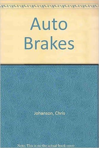 Auto Brakes: Chris Johanson, Martin T. Stockel: 9781590702673 ...