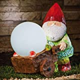 Forest Light Gnome Statue
