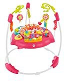 Bounce to the moon and back, all in a day's worth of playtime. There's so much for baby to discover with sweet animal friends on this Jumperoo – music, lights and exciting sounds reward baby with every jump! A rotating seat gives baby 360° access to ...