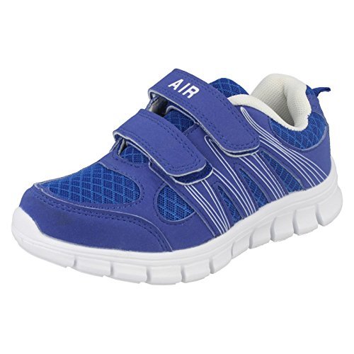 Childrens Air Tech Trainers Sprint Royal/White