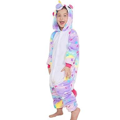 8136461919 Yansion Los niños Unicornio Onesies Pijamas