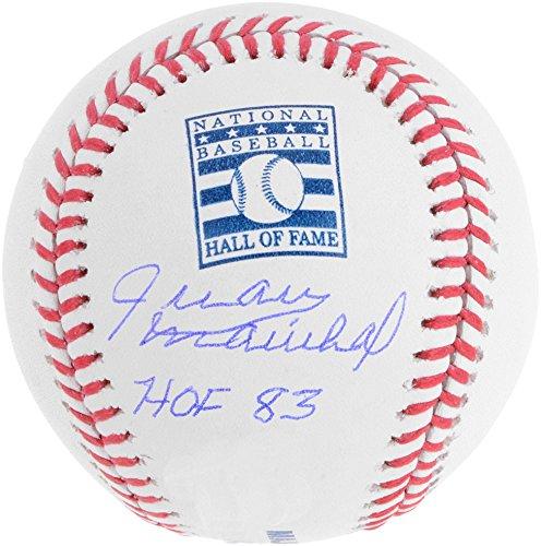 Juan Marichal San Francisco Giants Autographed Hall Of Fame Logo Baseball with
