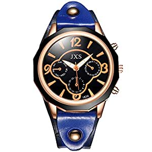 Cuarzo Ginebra Diamante Relojes Mode Retro Mujeres Reloj Silicona Correa Pulsera Caliente Venta Reloj: Amazon.es: Relojes