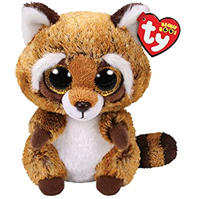 Ty Beanie Boo - 36941 - Rusty The Raccoon 15cm: Toys & Games