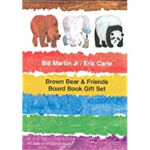 Brown Bear & Friends Board Book Gift Set: Brown Bear, Brown Bear, What Do You See?; Polar Bear, Polar Bear, What Do You Hear?; and Panda Bear, Panda Bear, What Do You See?