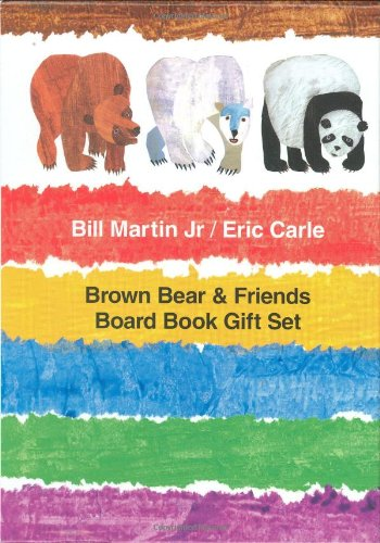 Brown Bear & Friends Board Book Gift Set: Brown Bear, Brown Bear, What Do You See?; Polar Bear, Polar Bear, What Do You Hear?; and Panda Bear, Panda Bear, What Do You See? (Brown Bear and Friends)