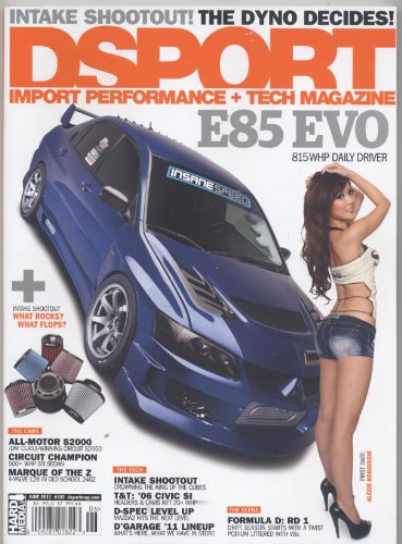 - DSport Import Performance + Tech Magazine #103 June 2011