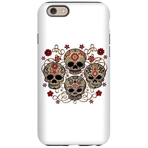 iPhone 6 Tough Case Flower Skulls Goth]()