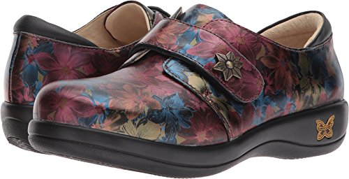 Alegria Womens Joleen Loafer Special Lady burgundy Floral Comfortable Loafer (38)
