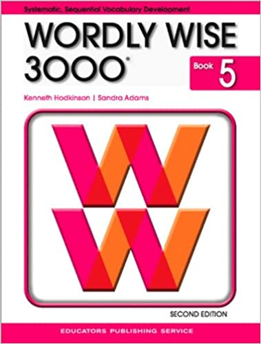 Wordly wise 3000 book 5 kenneth hodkinson sandra adams wordly wise 3000 book 5 kenneth hodkinson sandra adams 9780838828236 amazon books fandeluxe Image collections